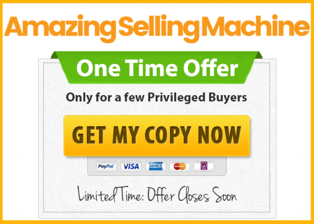 amazing selling machine offer