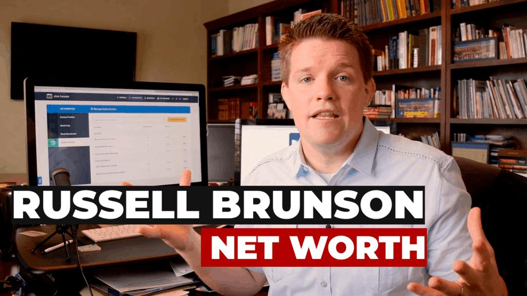 russell brunson net worth