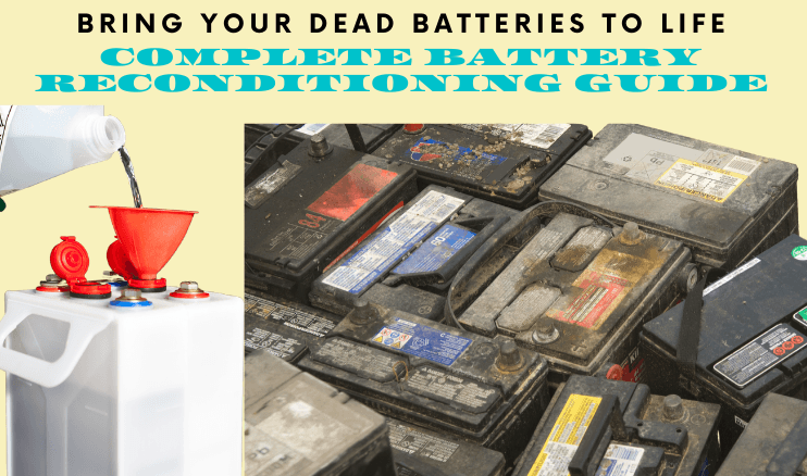 Bring your dead batteries to life again
